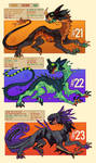 Zyrax 21 - 23 AUCTION! by LiLaiRa