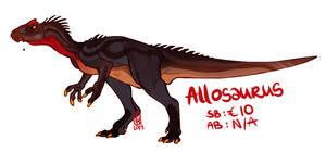 Allosaurus adoptable