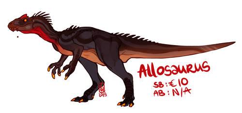 Allosaurus adoptable by LiLaiRa