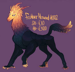 Feather hound #002 by LiLaiRa