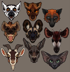 Animal Stickerset