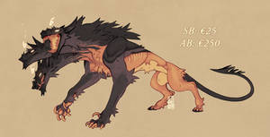 Cerberus adoptable