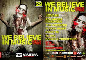 2 Side flyer WBIM Helloween by Armidas