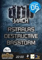 Drum n bass mach poster by Armidas