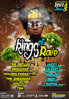 Poster Kings of Rave by Armidas