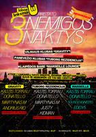 Poster 3 Nemigos naktys by Armidas