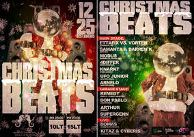 2 Side flyer Christmas beats by Armidas