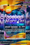 Facebook Night Out Poster