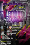 Poster for party Techno be parkiu