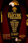 Poster for party Electric Halloween