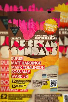 Poster for Ice Cream sundays
