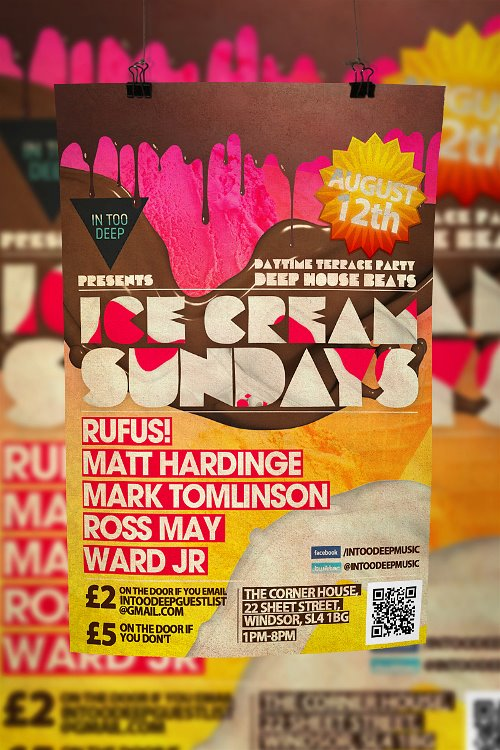 Poster for Ice Cream sundays by Armidas