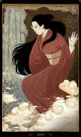 [Speedpaint]  Cards of Asia - Japan