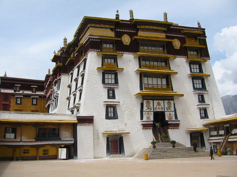 White Palace of the Potala by Bigsleeves-Arts
