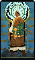 Cards of Asia - Tibet by MangoMendoza