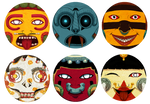 Deities - Aztec Deity Stickers!