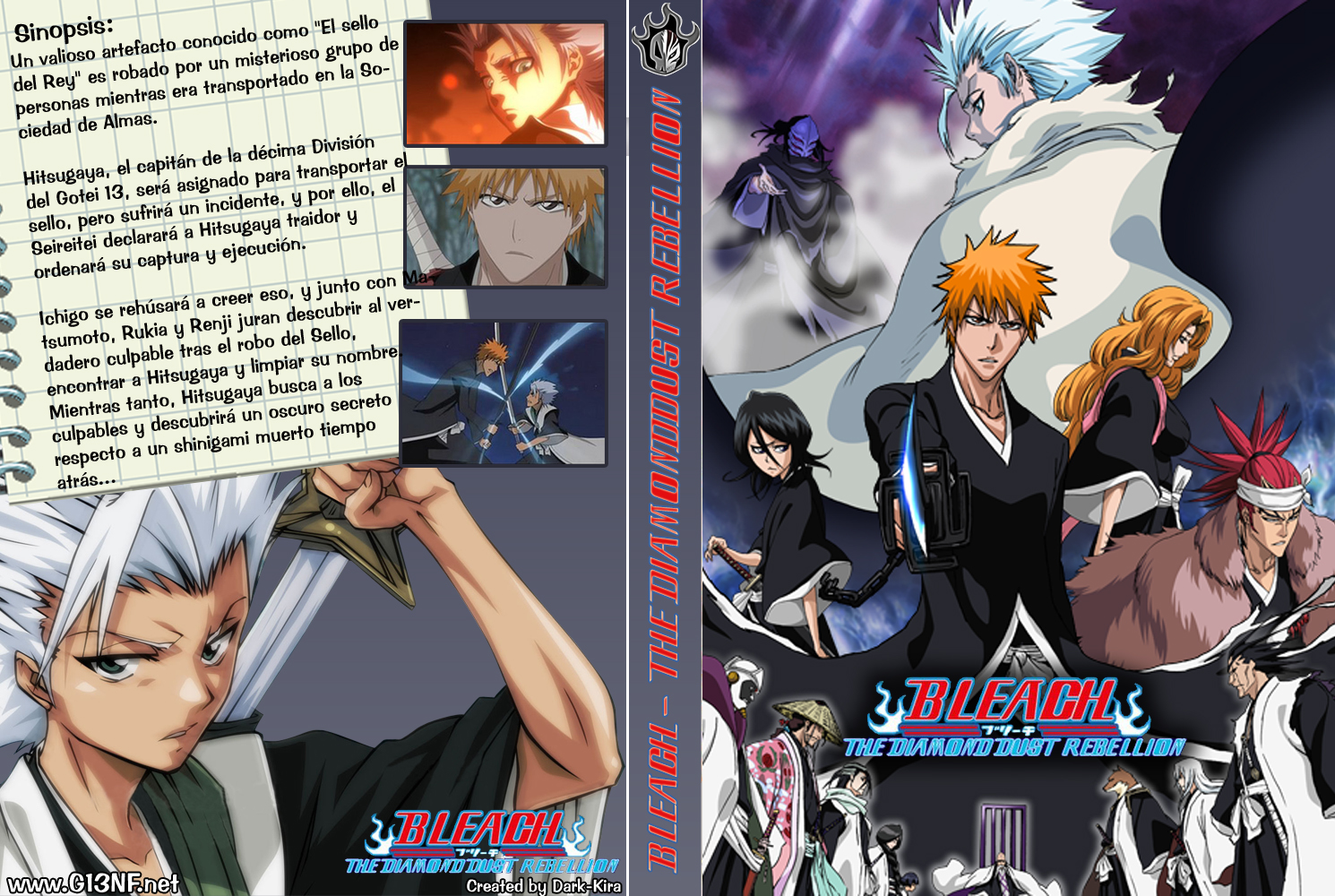 pin cover bleach movie fade to black frjpg on pinterest