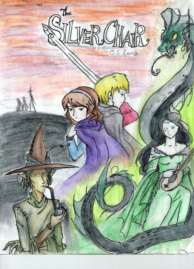 The Silver Chair Report Cover by 00JackieLantern00 on DeviantArt