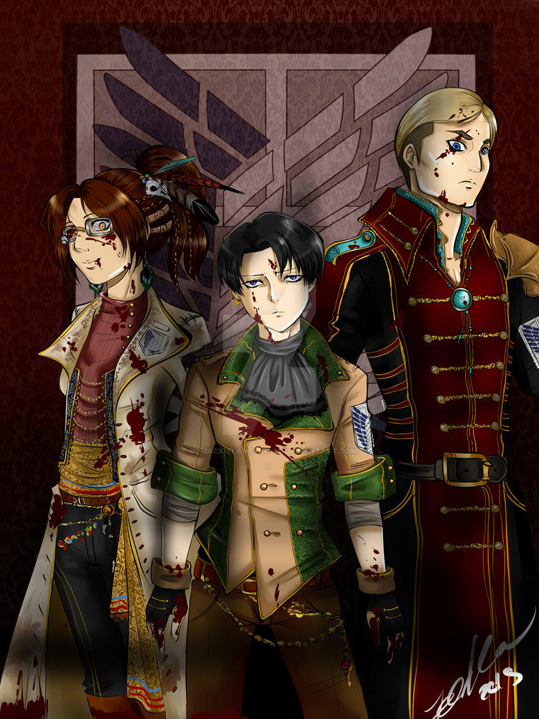 Steampunk Survey Corps by 00-JackieLantern-00