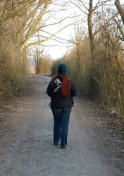 yesterdays walk by Fortresca