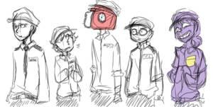 Rebornica's crew