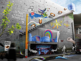 Street of Art - Dedicated place to StreetArt by unicolored