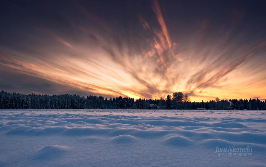 Fiery Sky II by JoniNiemela