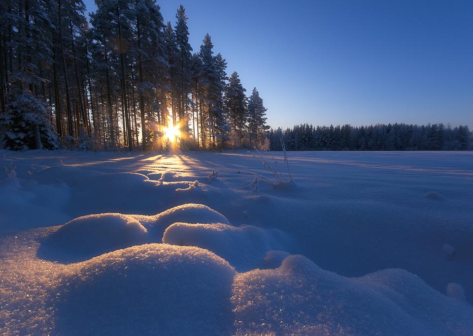 Crisp Winter Day by JoniNiemela