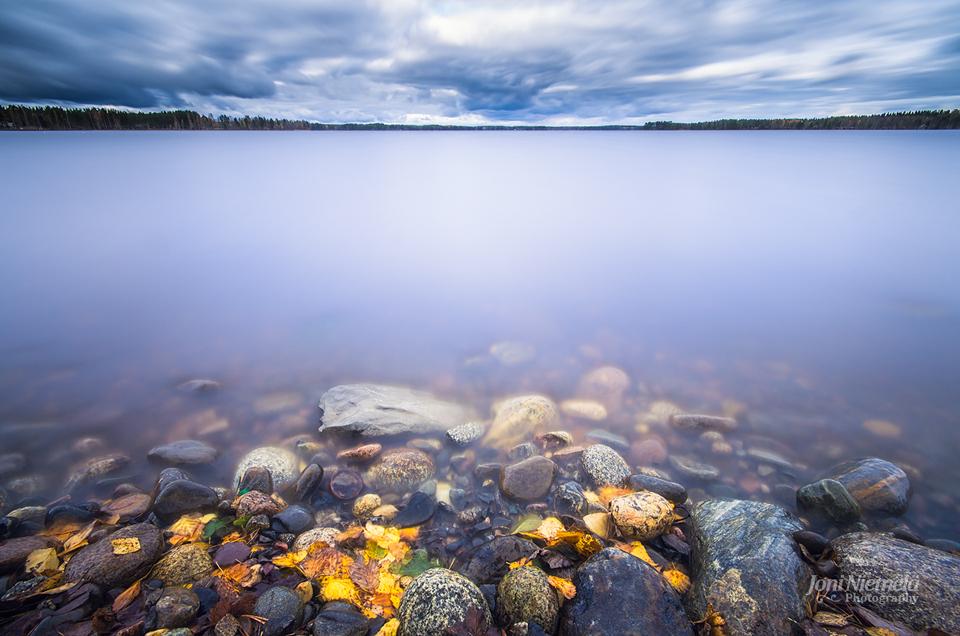Autumn Shore by JoniNiemela