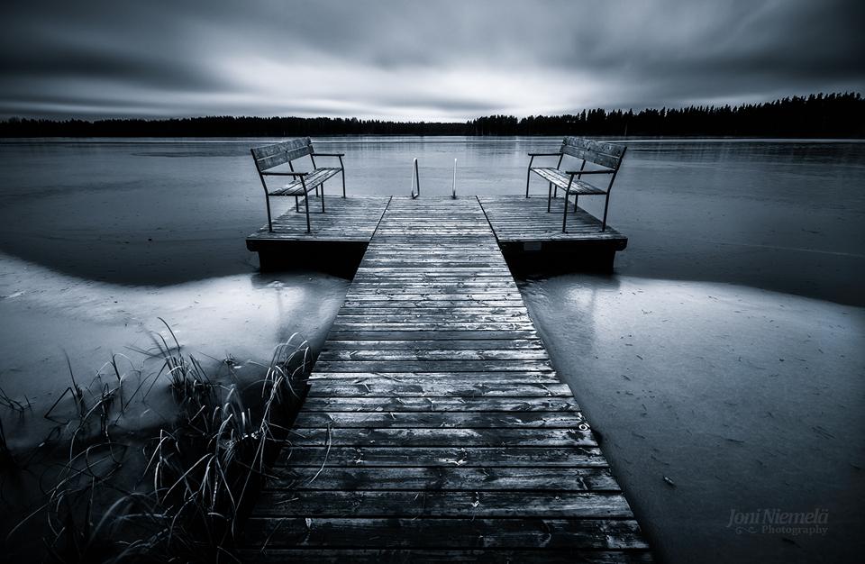 Frozen Lake by JoniNiemela