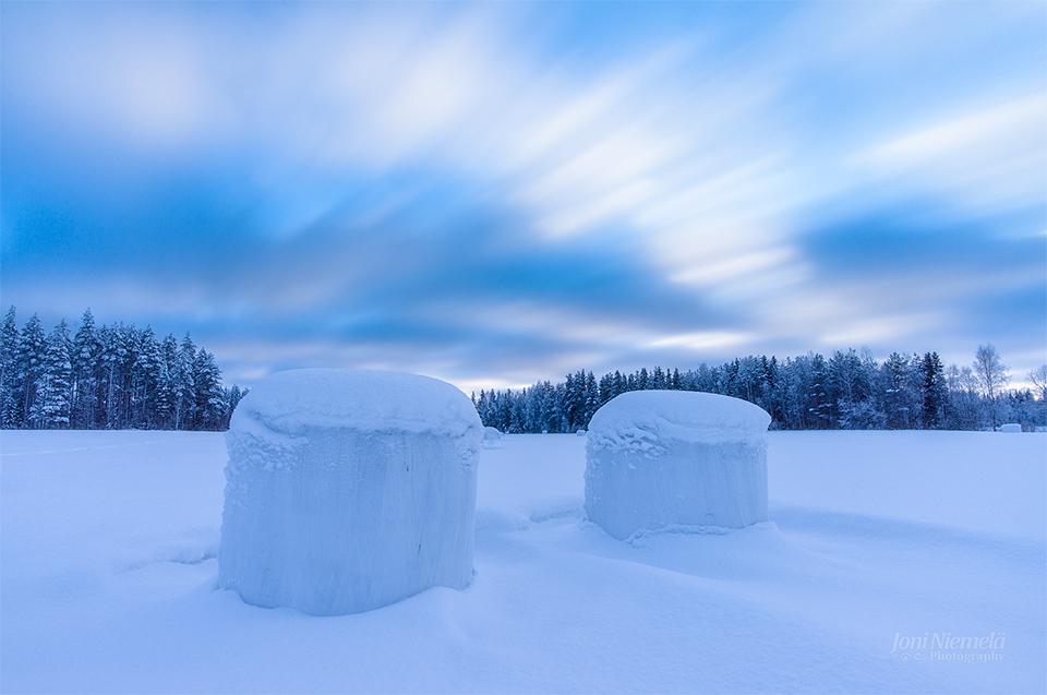 Winter Sky by JoniNiemela