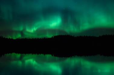 Spooky Auroras III by JoniNiemela