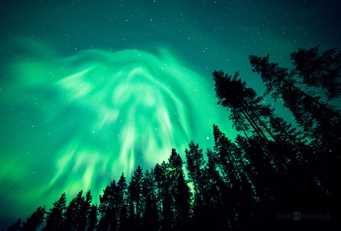 Green Blanket by Nitrok