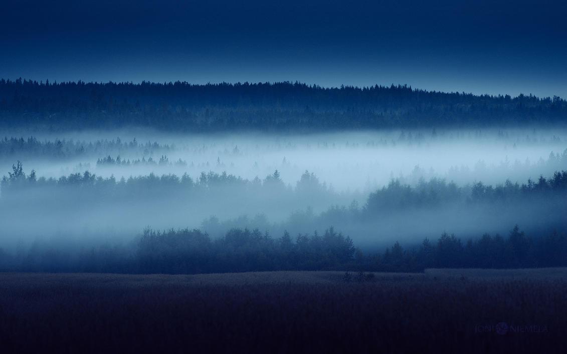 Mist At Dusk by JoniNiemela