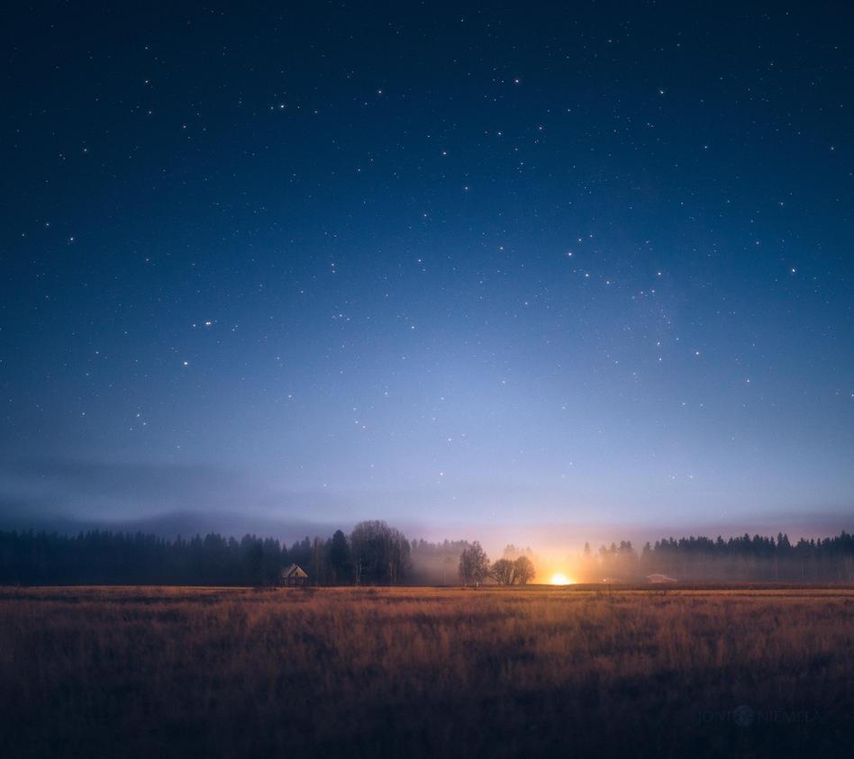 Moonlit Night by JoniNiemela