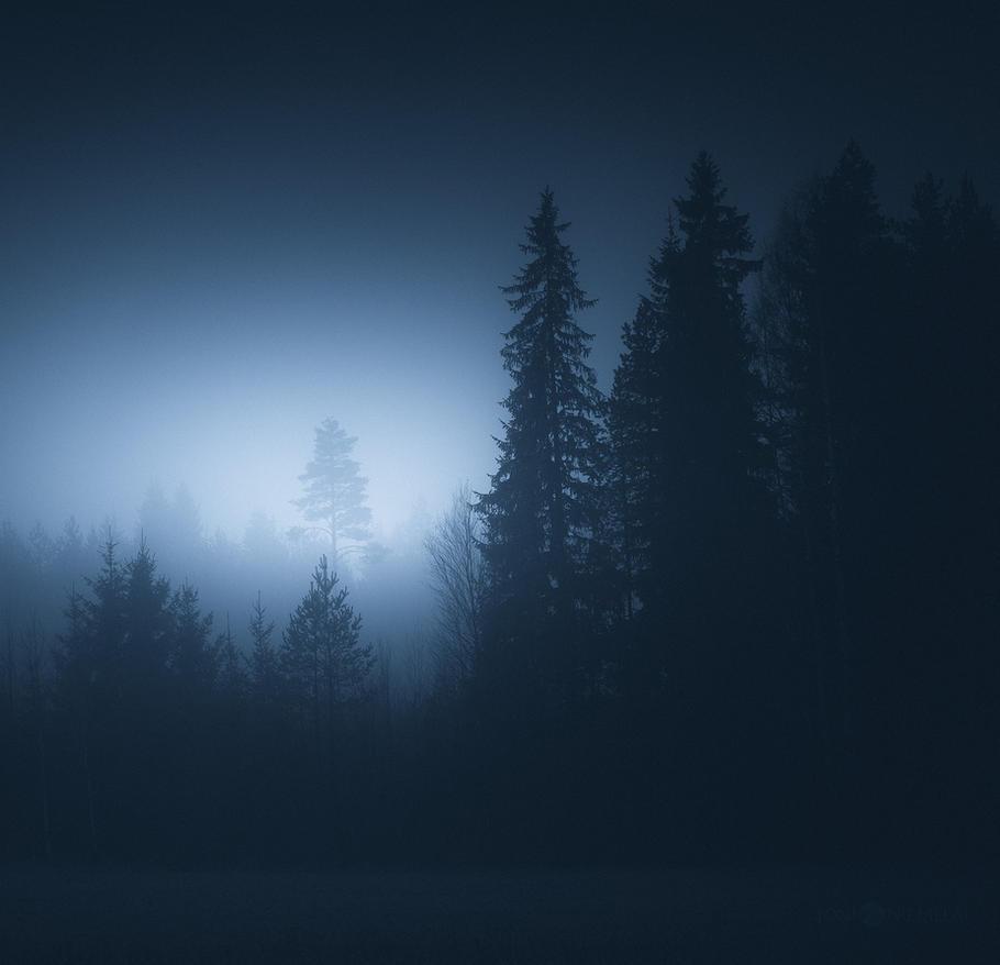 Blue Glow by JoniNiemela