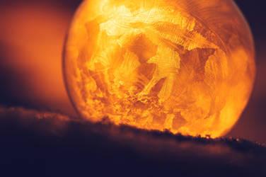 Golden Ice Bubble by JoniNiemela