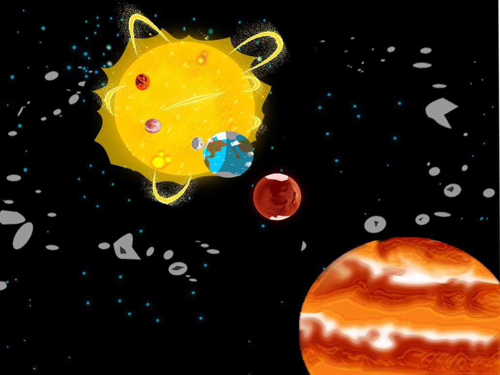 sistema solar by jonarty