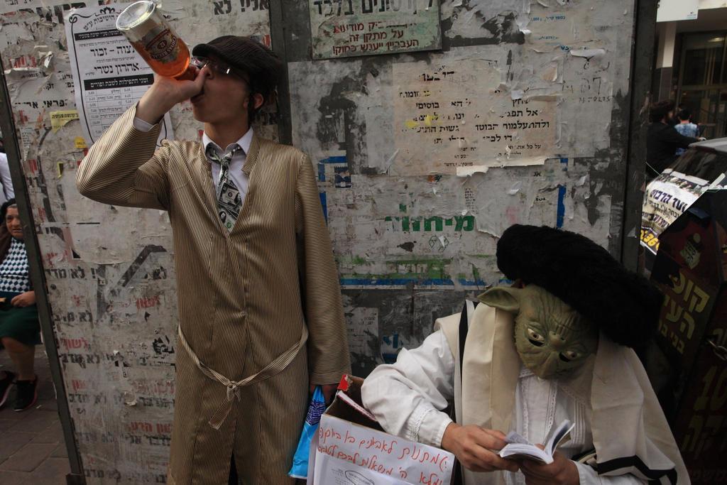 Purim - 2017 Bnei Brak by sevron