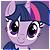 Twilight Sparkle Free Icon by Nattsu-San