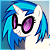 Vinyl Scratch / DJ Pon3 free icon by Nattsu-San