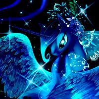Luna, Goddess of the Night - Skype Icon by Nattsu-San