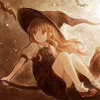 Kirisame Marisa Free Icon 2 - Touhou by Fireflyuh