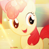 Apple Bloom - MSN Free icon by Nattsu-San