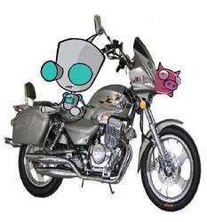 Gir and his Hog by Invader-Jim