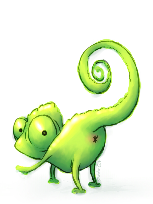 Chameleon softporn by DictatorCat