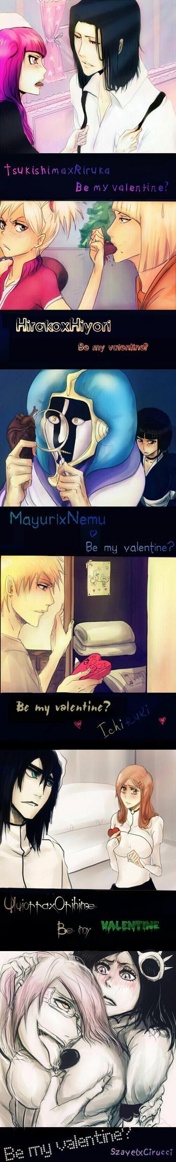 Bleach Valentine's day by Yukitoko