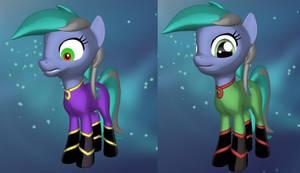Mane-iac (3D Pony Creator, version 1.1.0 preview) by PonyLumen