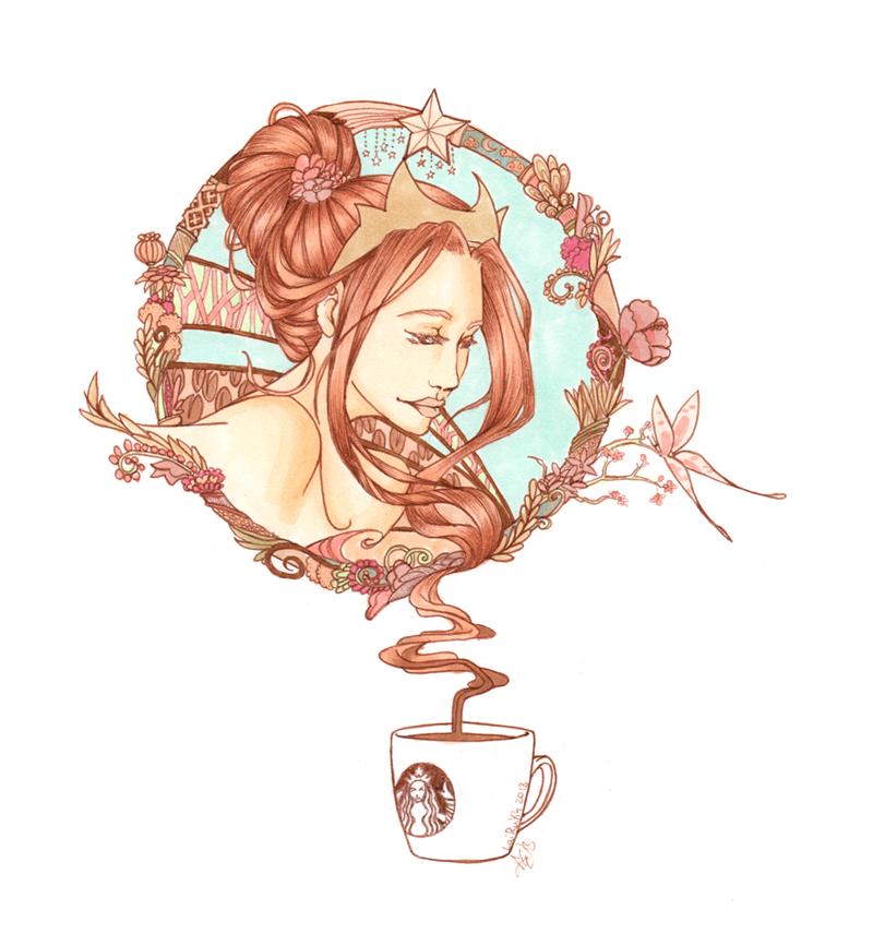 Sweet Morning Coffee by AyaEtoshi