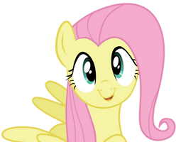 Cute Fluttershy vector by BR-David